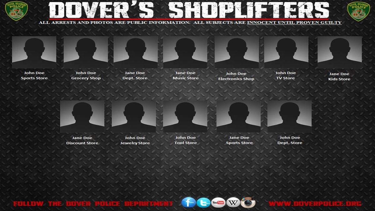 Dover Police Dept  shames shoplifters via Facebook, web - WHYY