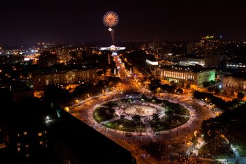 July 4th Fireworks over the Philadelphia Museum of Art in 2017.  (Courtesy of the Wawa Welcome America Festival)