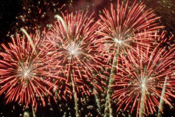 Fireworks burst over Penn's Landing in Philadelphia. (AP Photo/Tim Shaffer, file)