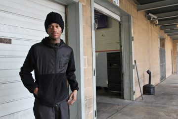 Jarren Taylor says these days he's trying to stay out of trouble. (Kimberly Paynter/WHYY)