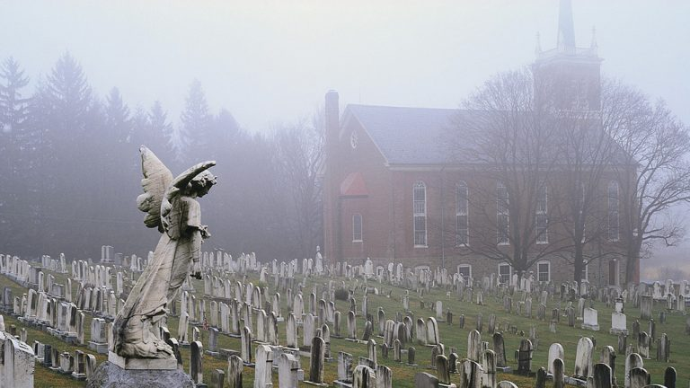 Burial practices have changed over time