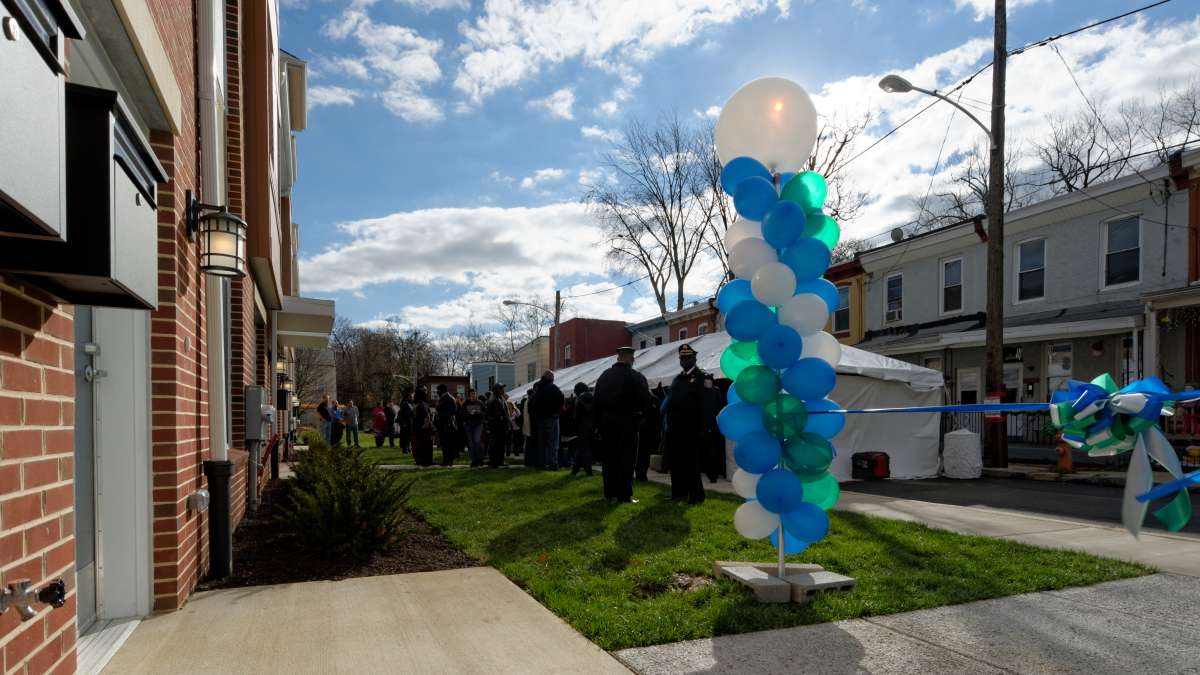 The Queen Lane Apartments open in Germantown (Bastiaan Slabbers/for NewsWorks)