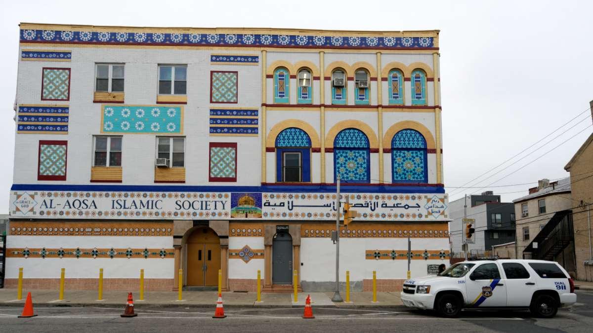 Al-Aqsa Islamic Society on Germantown Avenue in North Philadelphia. (Bastiaan Slabbers/for NewsWorks)