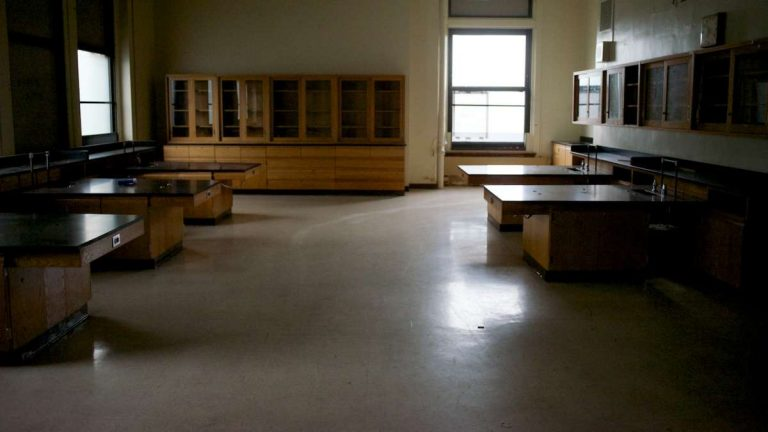 This was once a GHS classroom. (Bas Slabbers/for NewsWorks)
