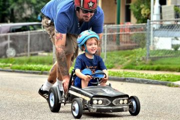 Check out this week's story on the annual soap box derby race in Northwest Philadelphia. (Bas Slabbers/for NewsWorks(