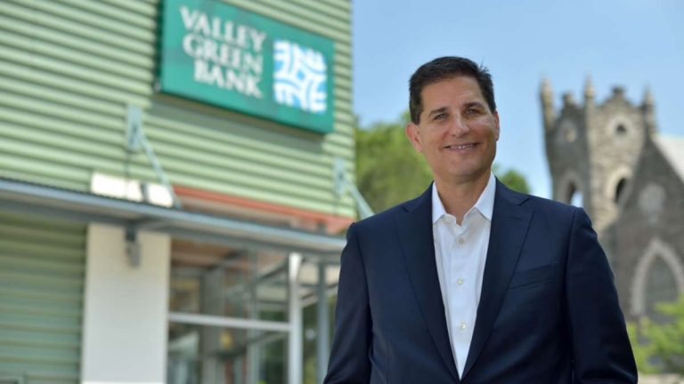 Jay R. Goldstein is chief executive officer, president and director of Valley Green Bank. (Bas Slabbers/for NewsWorks)