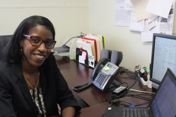 Kia Butler, director of foster care at Northern Children's Services in Roxborough. (Janis Chakars/for NewsWorks)