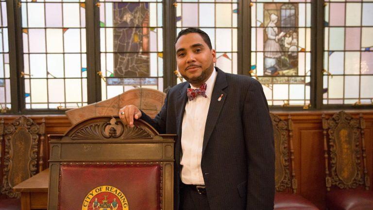 Former Reading City Council President Francisco Acosta. (Lindsay Lazarski/WHYY)