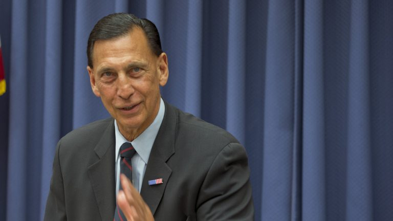 U.S. Rep. Frank LoBiondo, R-New Jersey, opposes renewal of the National Flood Insurance Program. He says he's