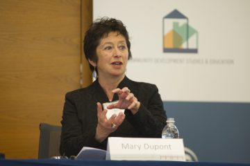 Mary Dupont is the director of financial empowerment for the State of Delaware. (Federal Reserve Bank of Philadelphia)