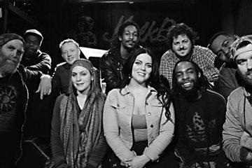 Jim Stephens' Full Tilt Boogie Band (Image courtesy of Athena Music)