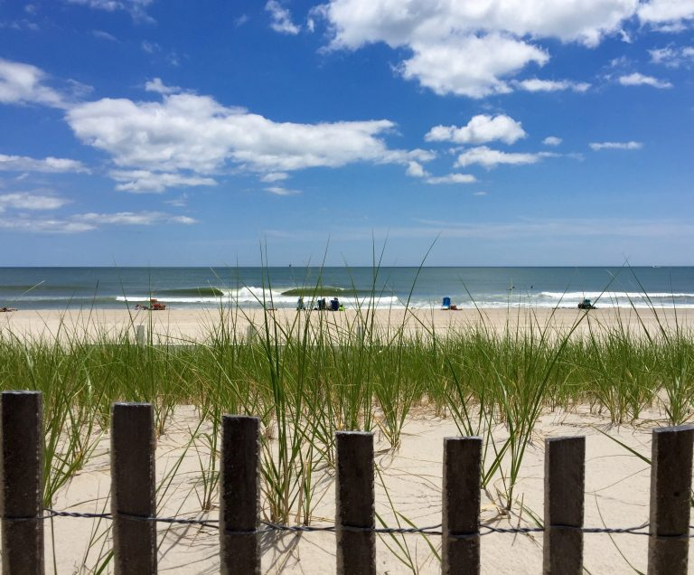 A Seaside Park beach in late June 2015. (Photo: Justin Auciello/JSHN)