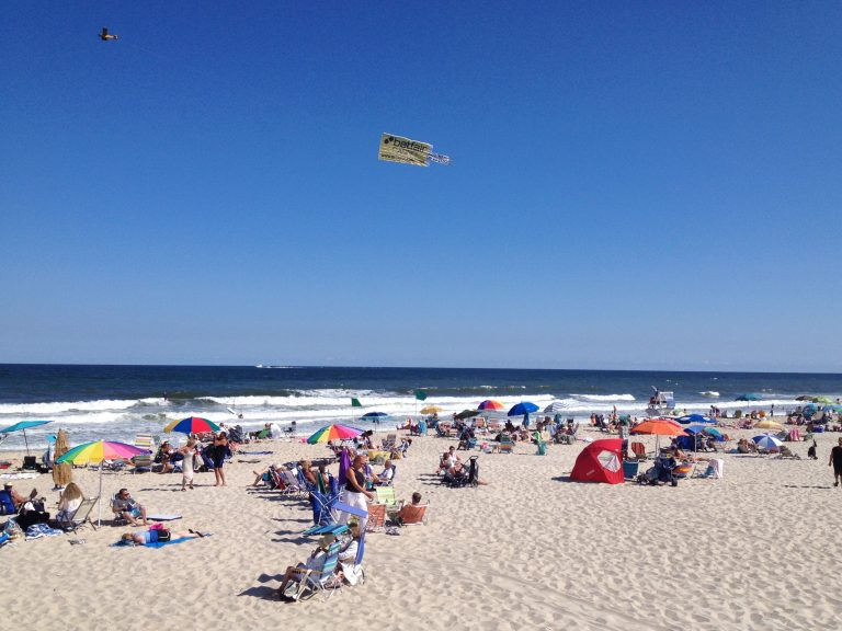 South Seaside Park in August 2014. (Photo: Justin Auciello/for NewsWorks)