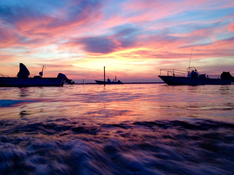 An Ocean County sunset in June 2014. (Photo: Justin Auciello/JSHN)