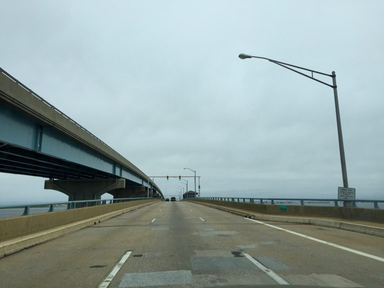 Mathis Bridge in early June 2015. (Justin Auciello/JSHN)