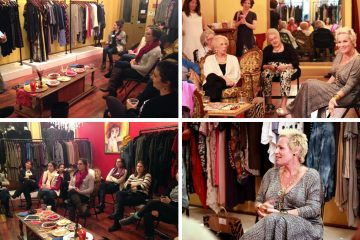 Galit Carmely holds court at her Old City boutique My Little Redemption. (Images courtesy of Lauren Elena McGrath)