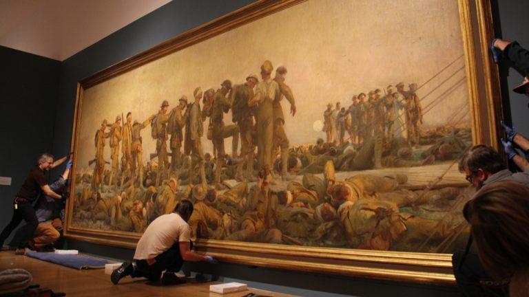 John Singer Sargent's monumental oil painting