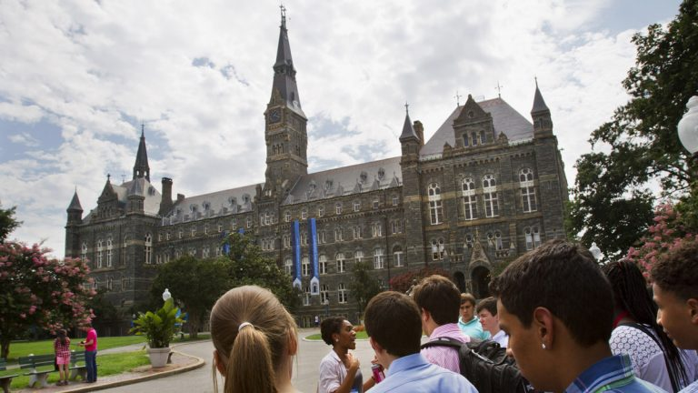Georgetown University's campus in Washington (AP Photo/Jacquelyn Martin, File)