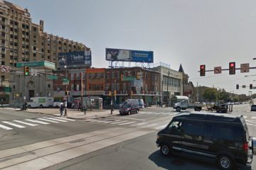 The intersection of Germantown and Erie avenues is shown in this Google Street View image.