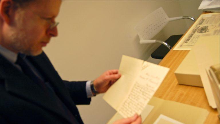 John Pollack of Penn's Kislak Center for Special Collections