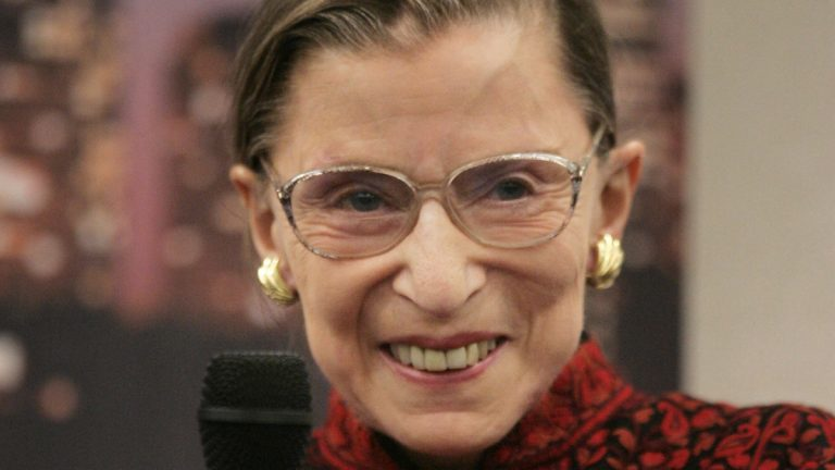 Supreme Court Justice Ruth Bader Ginsburg is shown in this 2007 file photo. (AP Photo/Steven Senne