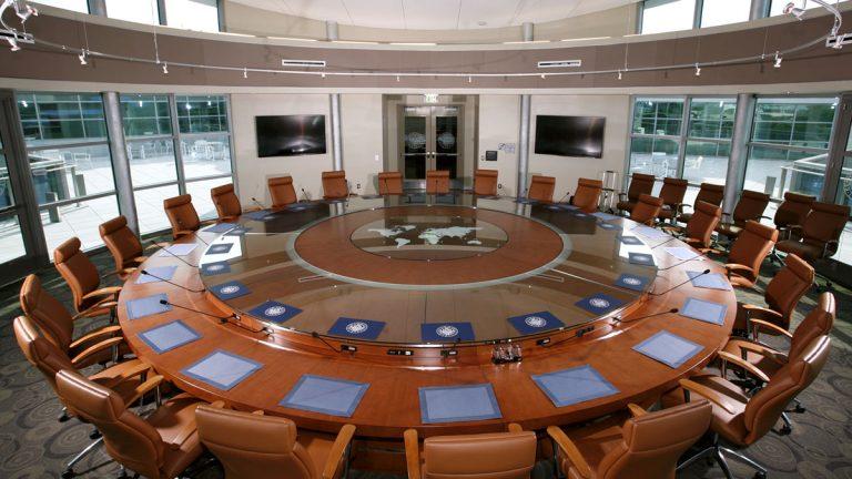 The mixed-media conferencing center at Kean University. (Photo/Kean University)