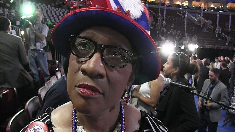 North Carolina delegate Gloria Baker Goodwin at the Democratic National Convention (Solomon Jones for NewsWorks)