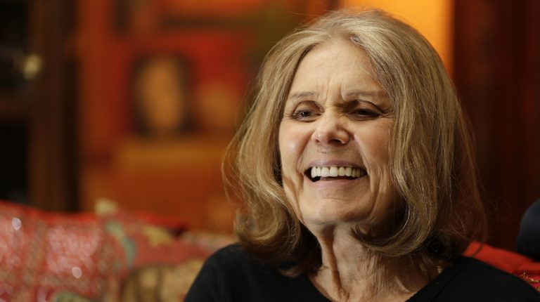 Gloria Steinem is shown in her home in New York in October of 2015. (Seth Wenig/AP Photo, file)