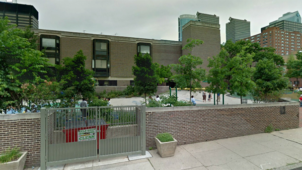 Greenfield Elementary School is seen in Center City Philadelphia in this Google street-view image. (Google Maps - ©2013 Google)