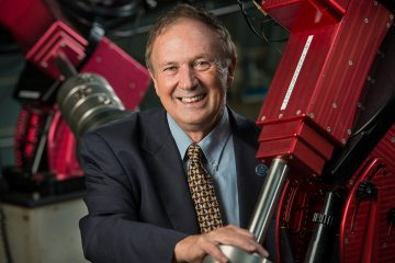 Villanova astronomy professor Edward Guinan is bound for the edges of outer space to get a closer look at dying red giant stars.  (Villanova University/John Shetron)