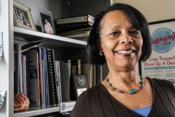 Gwen Bailey is the executive director of Youth Service, Inc., in West Philadelphia. (Kim Paynter/WHYY)