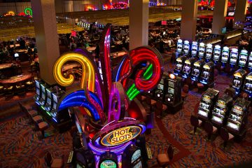 Although slot revenue has declined in recent years across the casino industry, Harrah's Philadelphia in nearby Chester still generated over $13 million in slot taxes last year. Over 150 local governments have been beneficiaries of the local share assessment, which was in limbo after being struck down by the Pennsylvania Supreme Court in 2016.  (Lindsay Lazarski/WHYY
