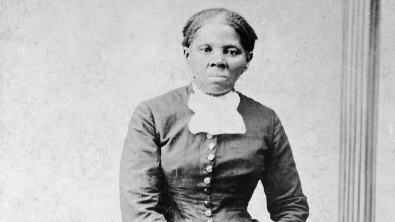 This image provided by the Library of Congress shows Harriet Tubman