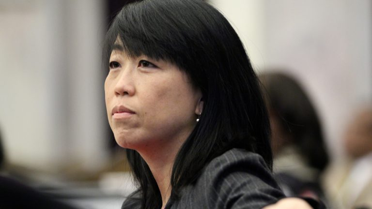 Philadelphia Councilwoman Helen Gym is demanding an investigation of the School Reform Commission. (Emma Lee/WHYY)