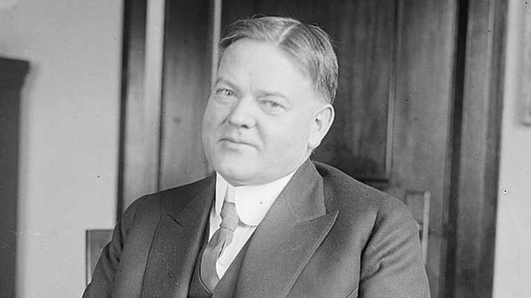 Herbert Hoover made millions in mining but was not successful at governing the country during the Great Depression.