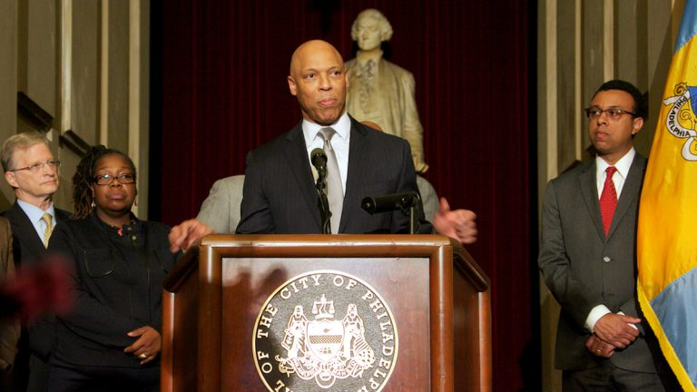 Dr. William Hite, Philadelphia school superintendent, says additional school funds need to some from teachers union concessions.  (NewsWorks file photo)