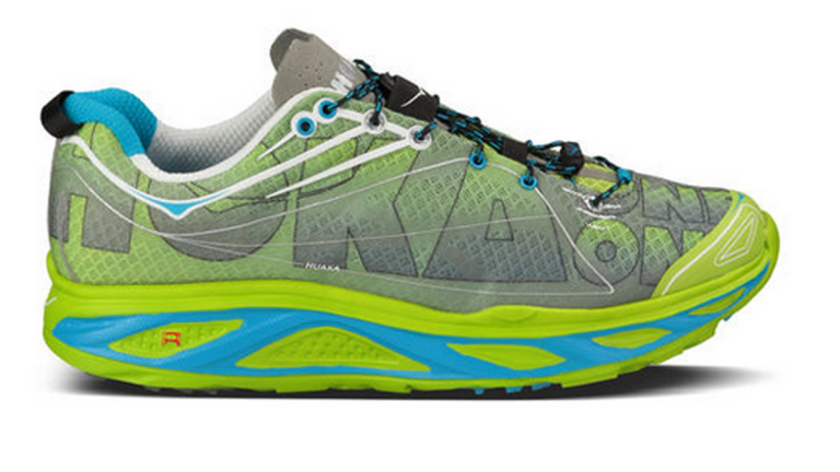 The $150 Huaka by Hoka One One is a direct response to the minimalist running shoe movement's shortcomings. (Image courtesy of Brian Metzler)