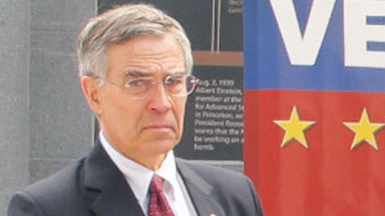 Congressman Rush Holt (Phil Gregory/NewsWorks Photo)