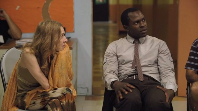 Still image from the motion picture 'Home' shows Gbenga Akinnagbe playing a man with mental illness who wants to move out of a group home and into a home of his own. A Philly coalition advocating culturally competent care is screening the film.
