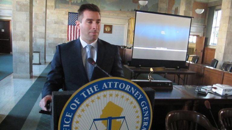Elie Honig, the director of the New Jersey Division of Criminal Justice, says 37 fraud suspects have been charged since last year. (Phil Gregory/WHYY)