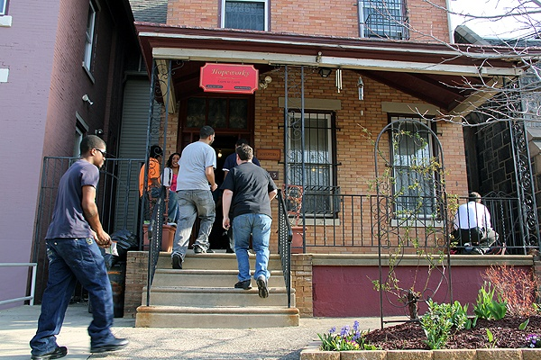 HopeWorks on State Street in Camden provides job training and in some cases housing. (Emma Lee/for NewsWorks)