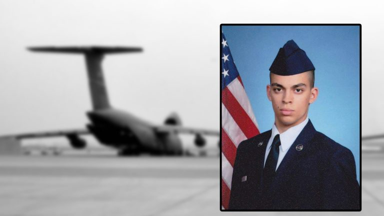 Senior Airman Keifer Huhman is the subject of a missing person investigation(Photos courtesy of DAFB)