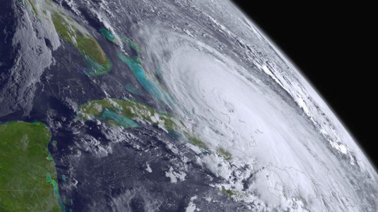(hurricane photo courtesy NOAA)