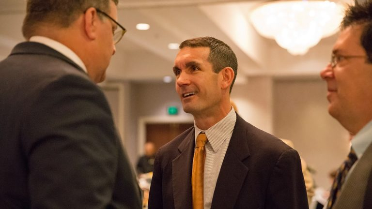 Pennsylvania Auditor General Eugene DePasquale kicked off the conference speaking about funding municipal pensions