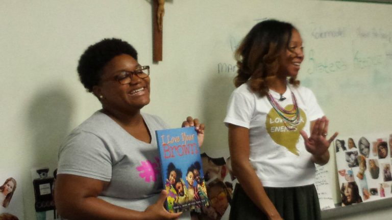 Atiya Chase and Daneya Jacobs read from their book