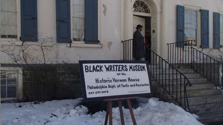 If the Black Writers Museum's executive director has his way, the Vernon Park facility which opened in February will soon become a Parisian-style gathering place. (Queen Muse/for NewsWorks)