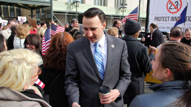 U.S. Rep. Ryan Costello, who represents a suburban area west of Philadelphia, voted in favor of the