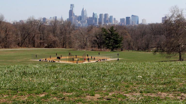 Philly gets a high score on park access in the new Trust for Public Land report, but a so-so rating overall. (NewsWorks Photo, file)
