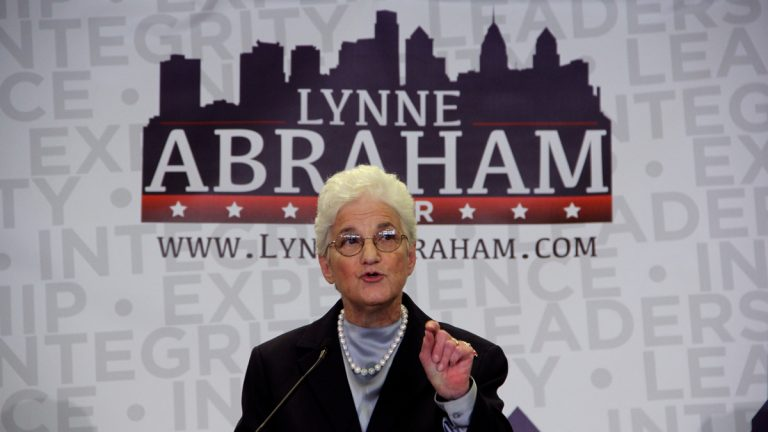 Lynne Abraham, the lone woman in the Philadelphia mayoral-election field, spoke with NewsWorks about an array of topics this week. (Emma Lee/WHYY)