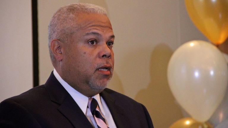 Three principals of the Bala Cynwyd-based Susquehanna International Group have contributed $250,000 to a relatively new political committee that will support state Sen. Anthony Williams' Philadelphia mayoral campaign. (NewsWorks file photo)